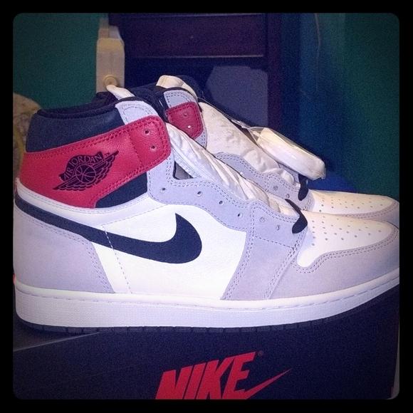 Jordan Shoes Air 1 Retro High Og Light Smoke Grey Poshmark